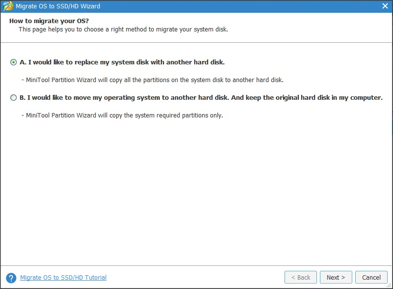 Operating System Migration Wizard