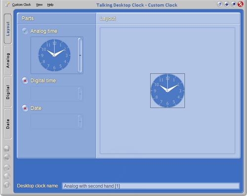 Clock Customization Option