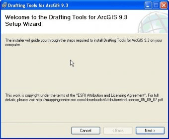 Drafting Tools for ArcGIS 9 3 Download (Free) - ArcCatalog exe