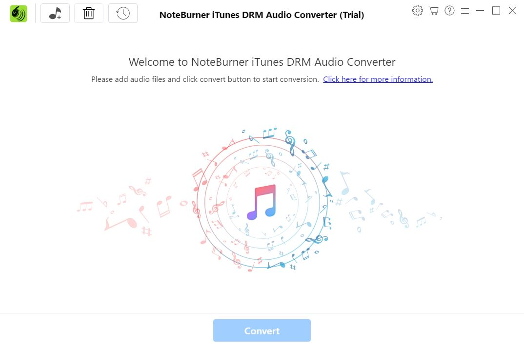 NoteBurner iTunes DRM Audio Converter 1.3 Download (Free trial ...