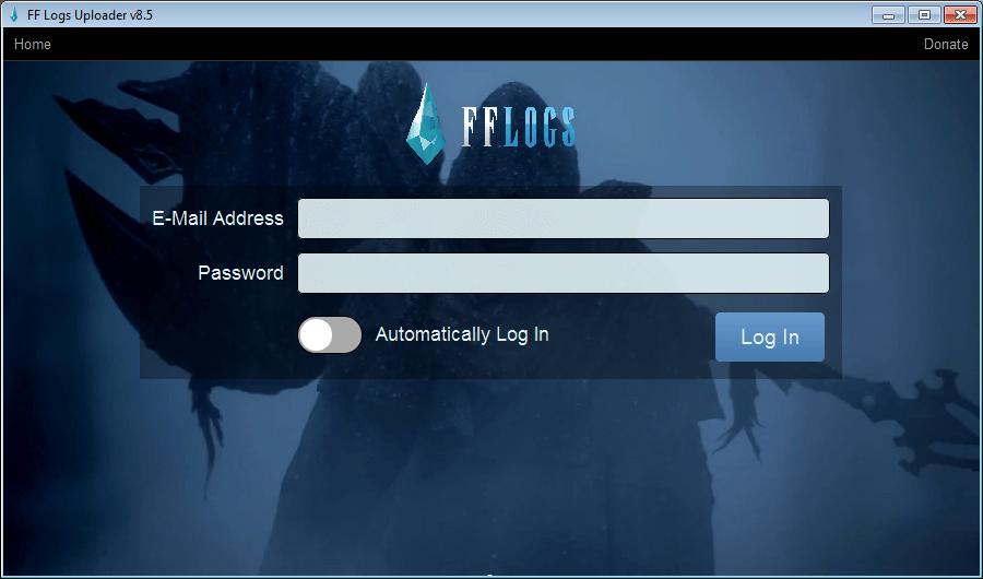 FF Logs Uploader software and downloads (FF Logs Uploader exe)