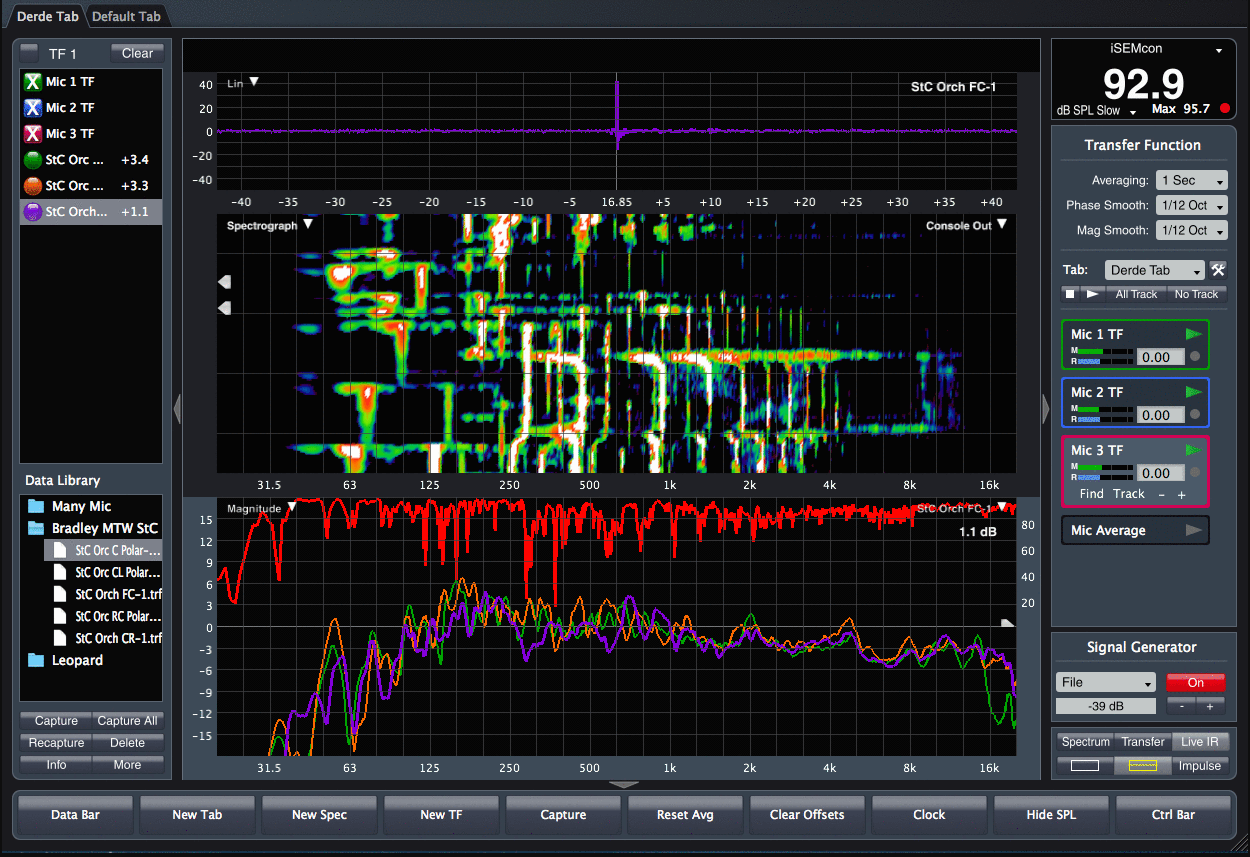 Live Sound Analyzer