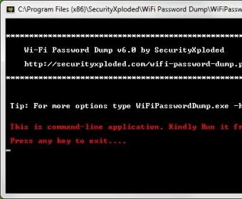 WiFi Password Dump 1 0 Download (Free) - WiFiPasswordDump exe