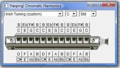Harping Chromatic Harmonica support.