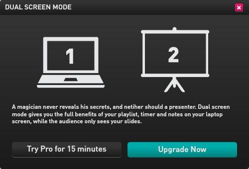 Dual-screen mode