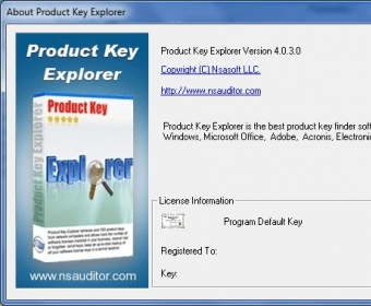 nsauditor product key finder