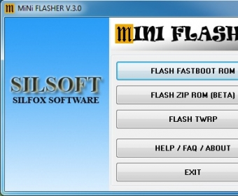 MiNi FLASHER - Software Informer  Simple tool to flash FASTBOOT/ZIP