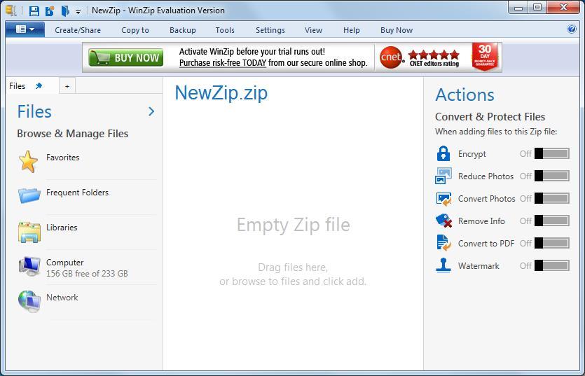WinZip 9 0 Download (Free trial) - WINZIP32 EXE
