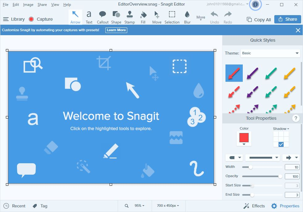 SnagIt Editor