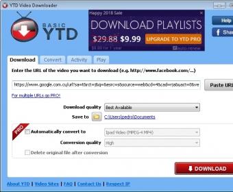 YTD Video Downloader 4 9 Download (Free)