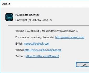 PC Remote Receiver 5 0 Download (Free) - IconPCRemoteReceiver exe