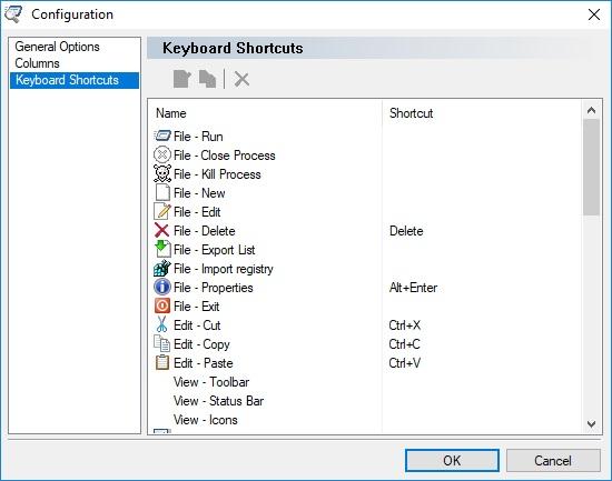 Configuration Dialog