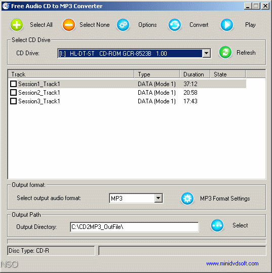 free audio cd to mp3 converter 1.3 12