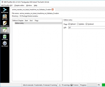 MKVtoolnix 7 3 Download (Free) - mmg exe