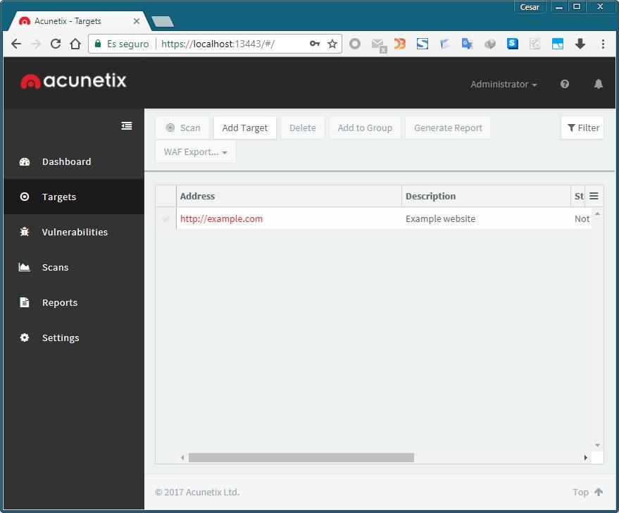 acunetix web vulnerability scanner 10 license key