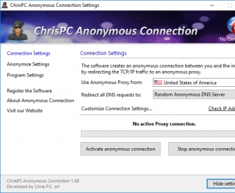3.50 TÉLÉCHARGER CHRISPC PROXY FREE ANONYMOUS