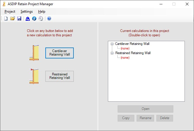 ASDIP Retain 3 1 Download (Free trial) - EntryPage exe