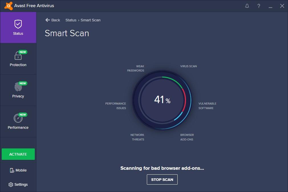 Smart Scan