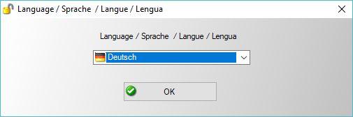 Selecting Default Language