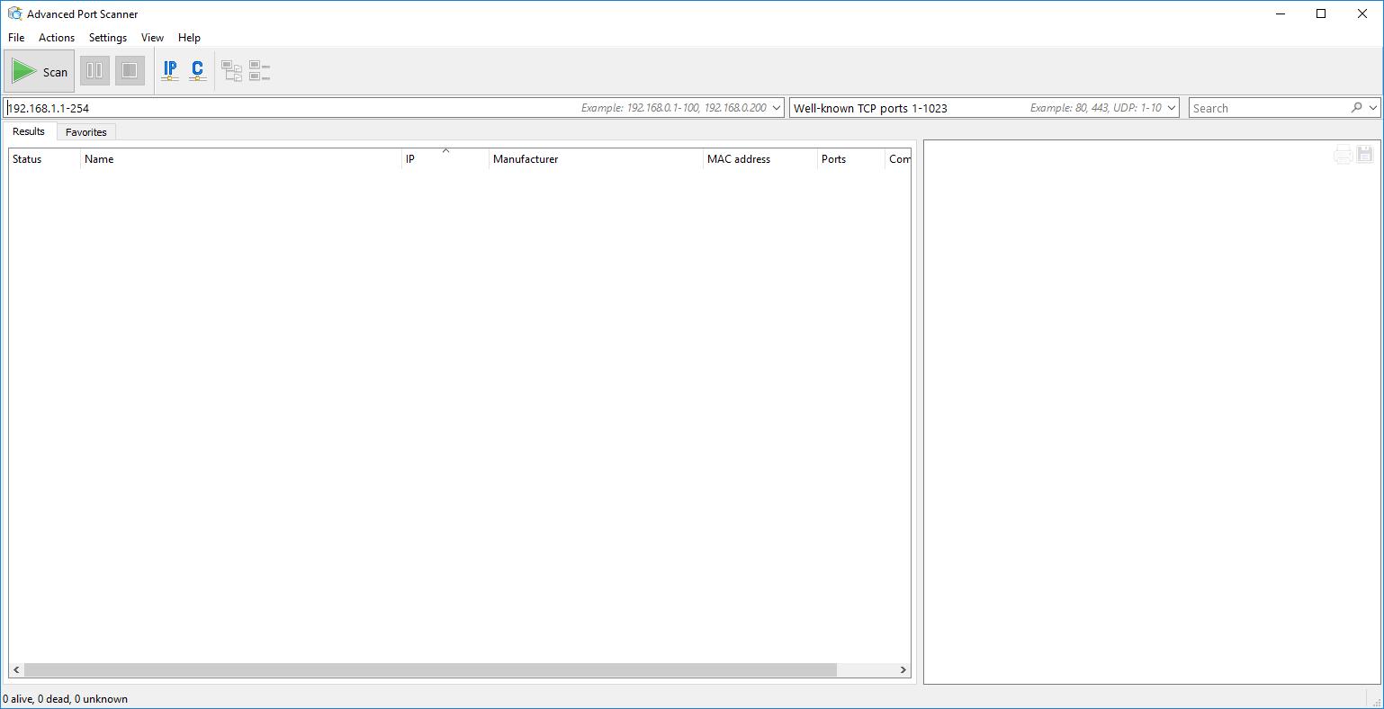 Advanced Port Scanner 1 3 Download (Free) - Advanced Port