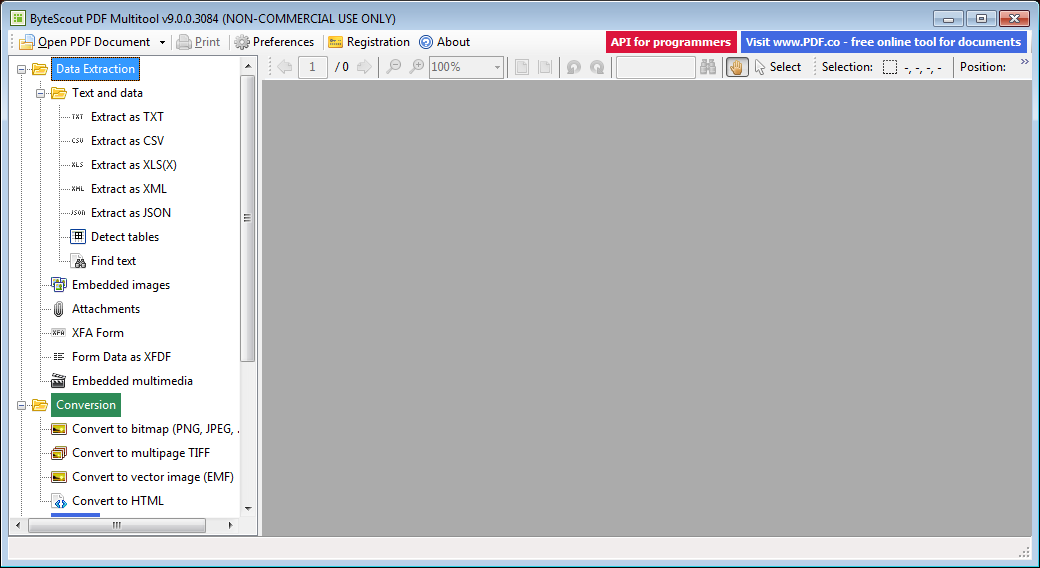 ByteScout PDF Multitool 9 0 Download (Free