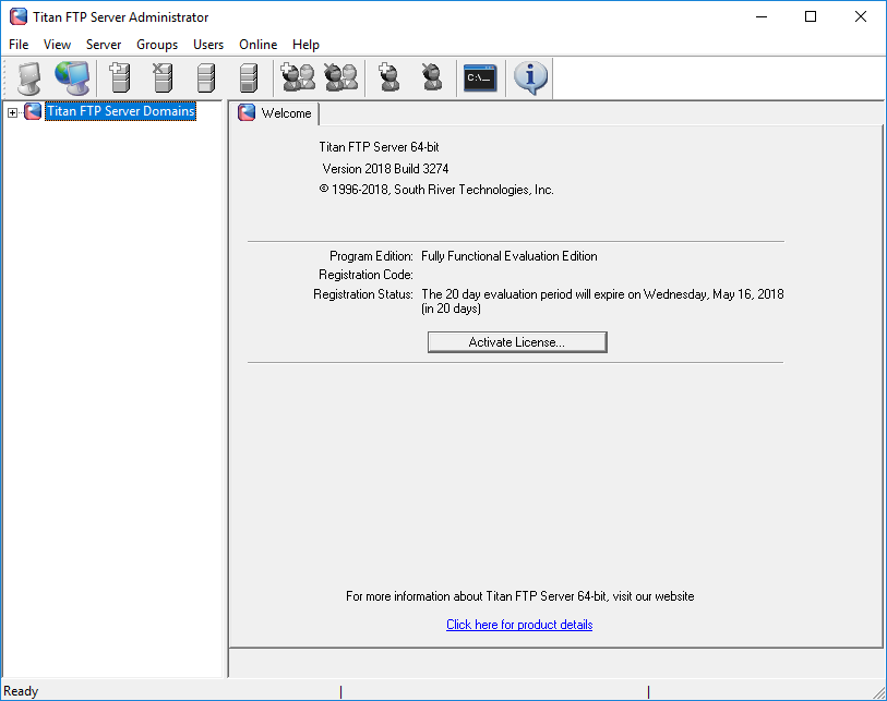 Titan FTP Server  Get the software safe and easy