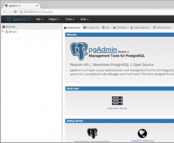 pgAdmin 4 - Software Informer  Create, manage, and use PostgreSQL