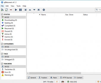 qBittorrent Download - Upload, download, and manage all your