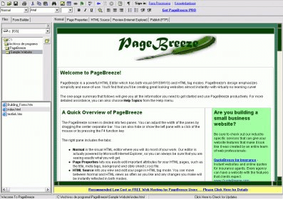 A free and easy to use HTML editor