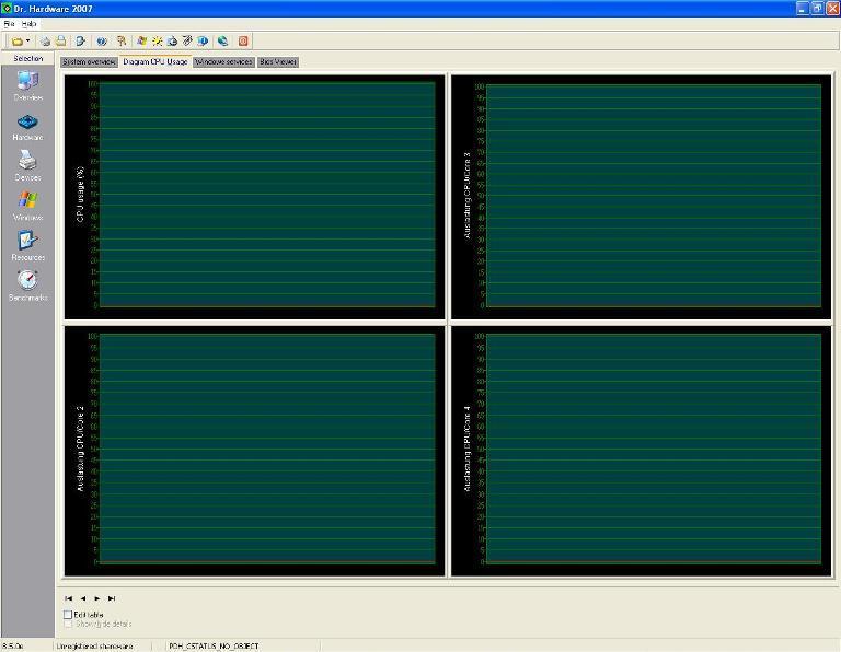 CPU Usage Window