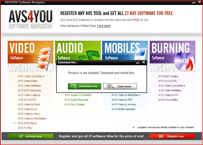download a program