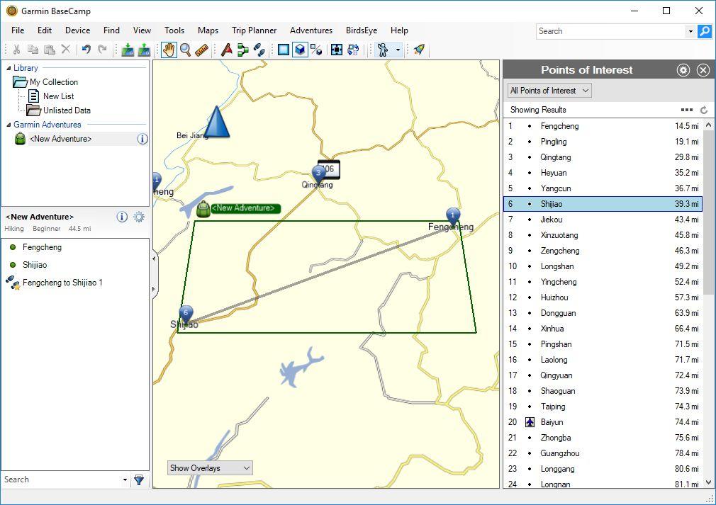 Garmin BaseCamp 4 6 Download (Free) - BaseCamp exe