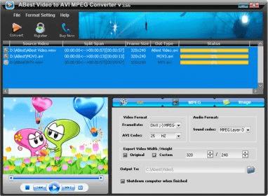 ABest MPEG VCD DVD Video Converter download mac