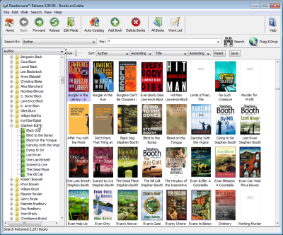 Readerware for Windows 3 60 Download (Free trial)