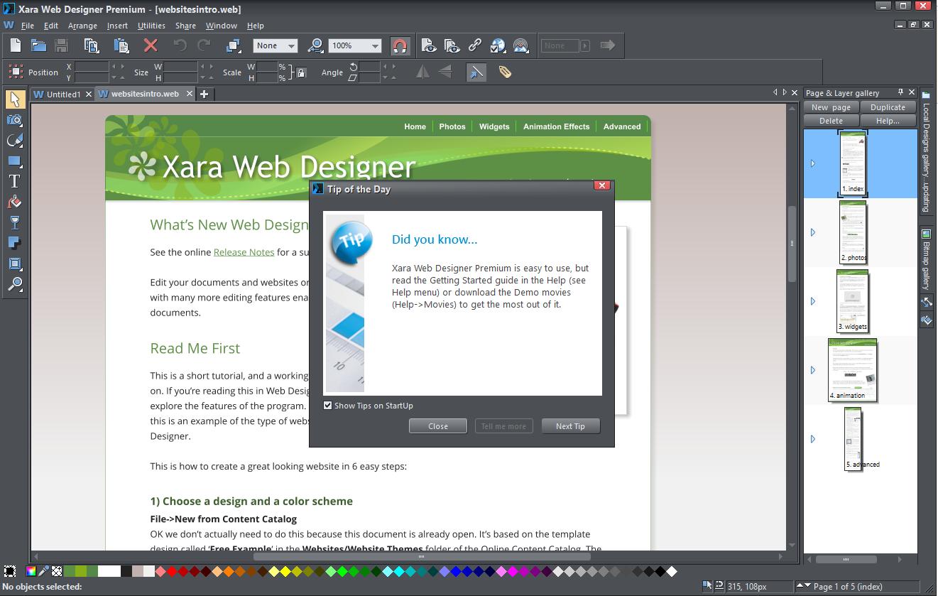 Xara Web Designer Premium 12 0 Download Free Trial Webdesigner Exe