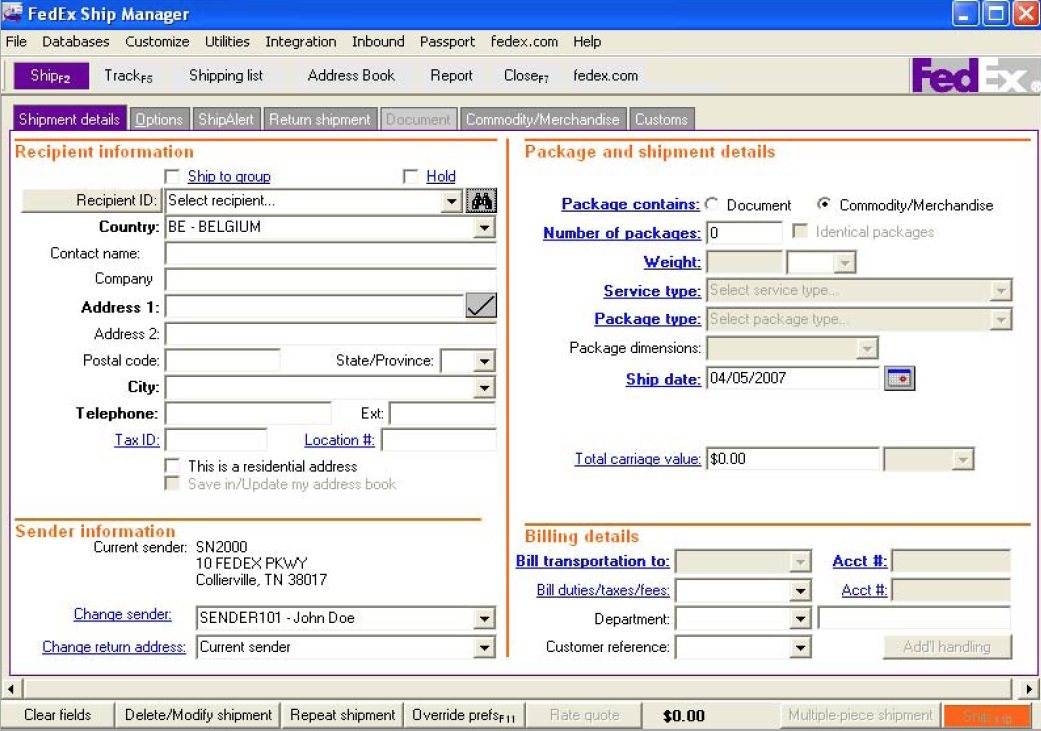 Fedex Ship Manager Download Maccleversterling