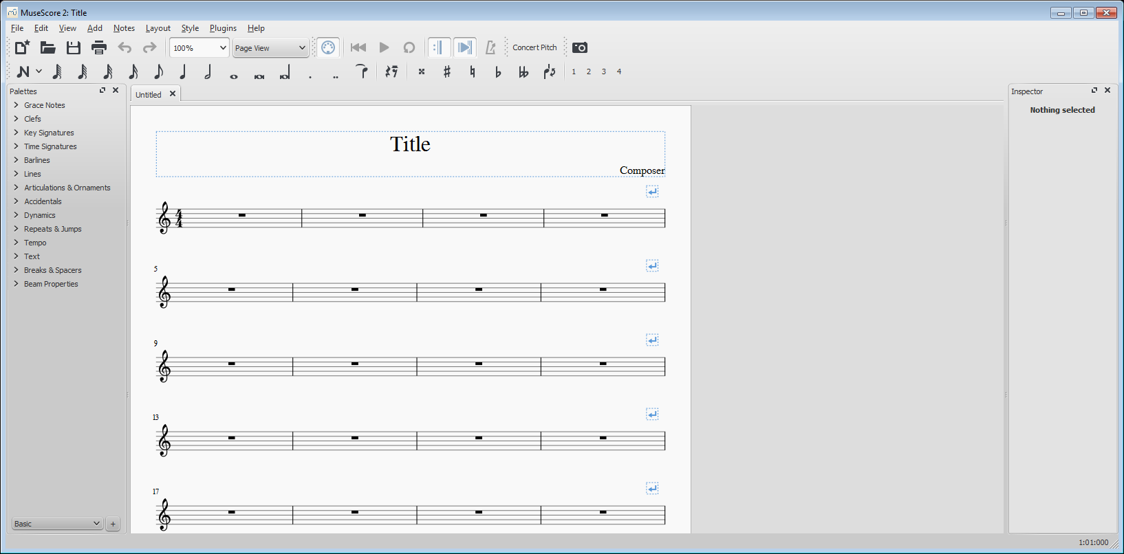 MuseScore 1 3 Download (Free) - mscore exe