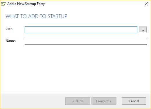 Add to Startup