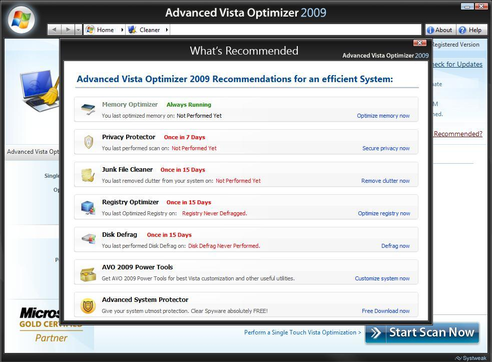 Recommended Optimization Options