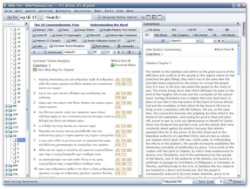 Textus Receptus-Example 2