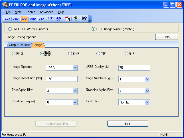 PDFill FREE PDF and Image Writer Download (WriterSave exe)