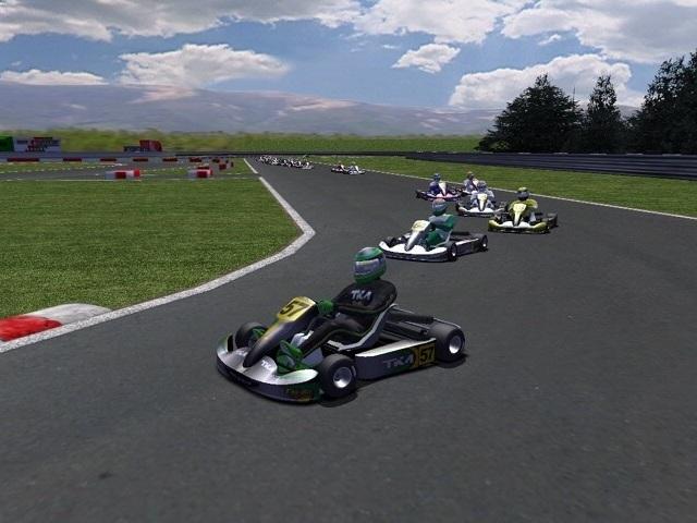 rFactor Mod BKKart Download - BRDev brings one of the best karting