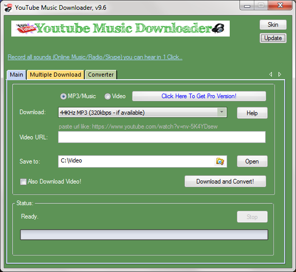 Youtube Music Downloader 9 2 Download Free Trial Downloader Exe