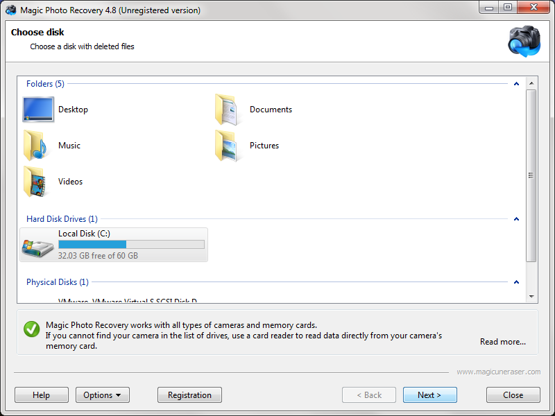 Magic Photo Recovery 4.0 Download (Free trial) - Magic Photo ...