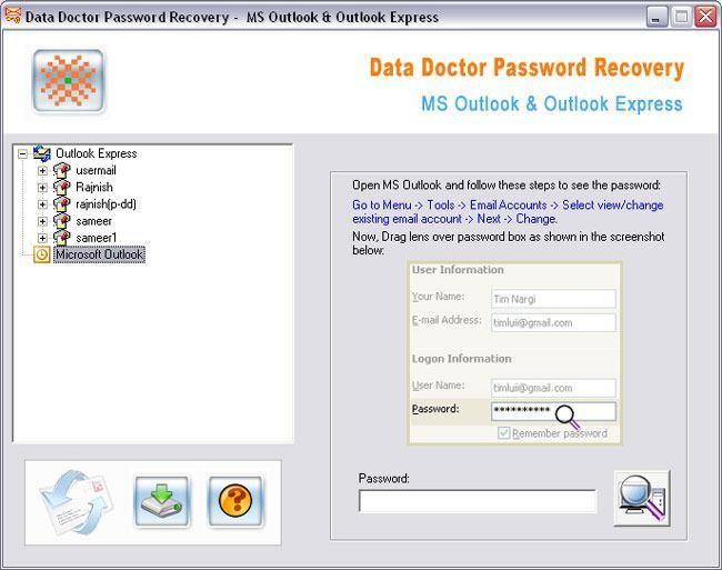 data doctor password recovery software download free