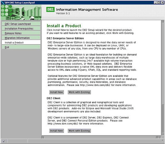 DB2 Enterprise Server Edition  Get the software safe and easy