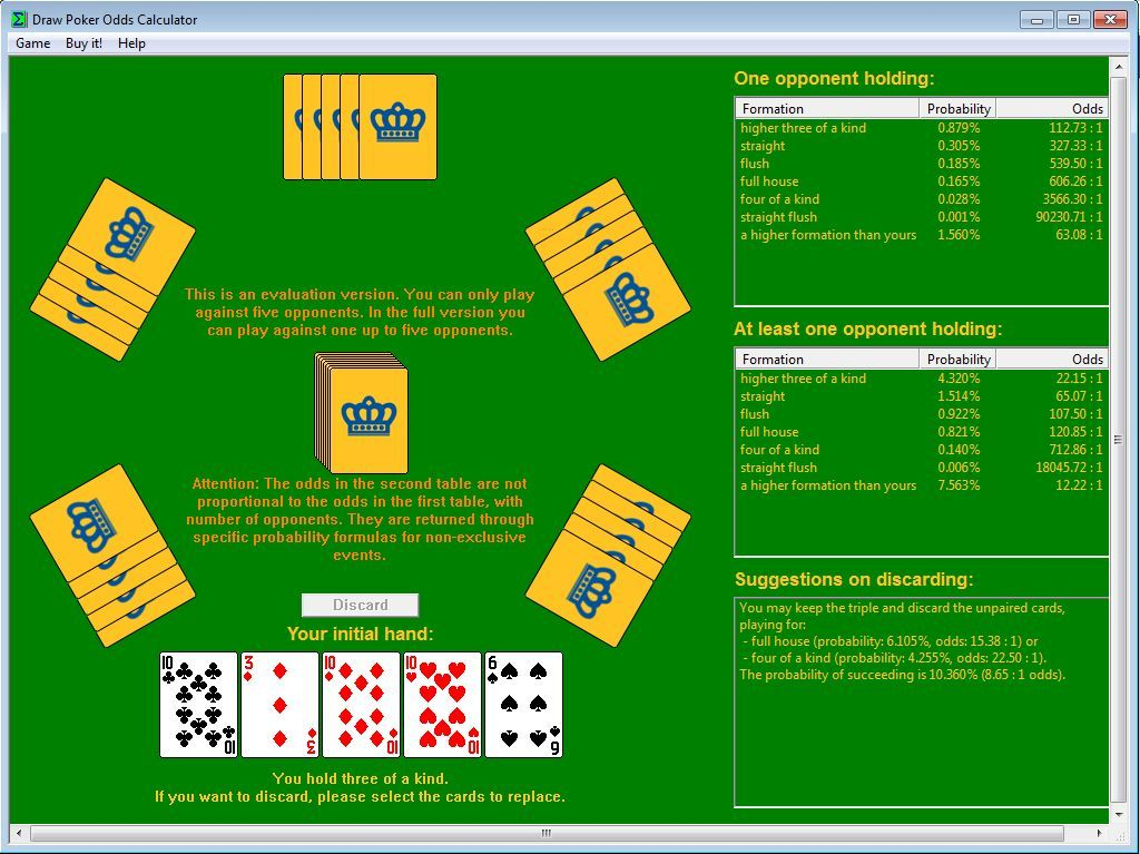 Odds hand 2