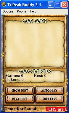 Game interface.