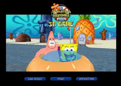 SpongeBob SquarePants 3-D Download - Fantastic racing game