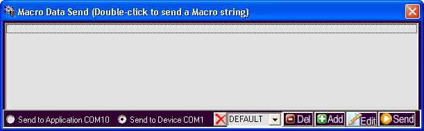 Macro Window